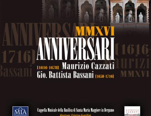 Cappella Musicale di Santa Maria Maggiore: Anniversari MMXVI