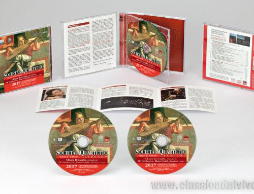 Aprile 2017: CD per Società del Quartetto di Bergamo