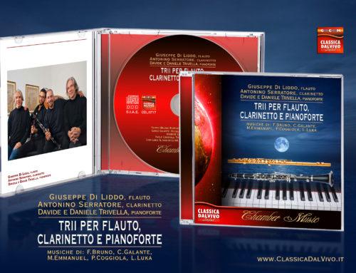TRII PER FLAUTO, CLARINETTO E PIANOFORTE