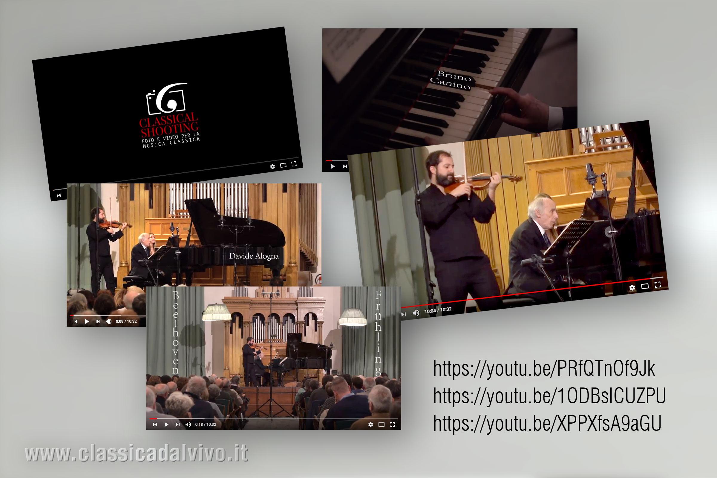 Davide Alogna, Bruno Canino, Beethoven, La-primavera