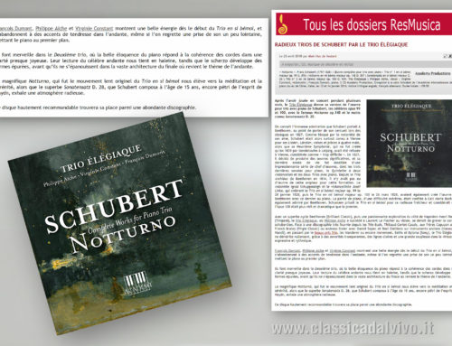 ResMusica – 25 aprile 2018, Francia – Schubert: Notturno