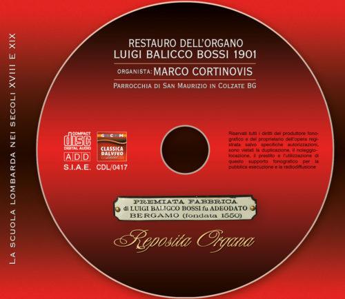 Marco Cortinovis - Organo Luigi Balicco Bossi in Colzate