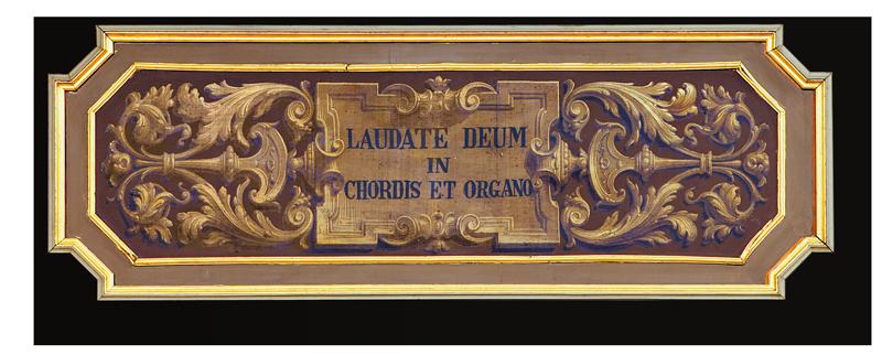 Cantoria dell'Organo Luigi Balicco Bossi in Colzate BG