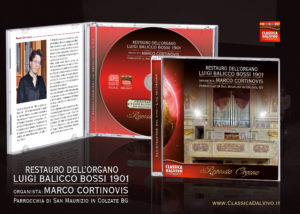 Presentazione del CD Organo di Colzate - Marco Cortinovis