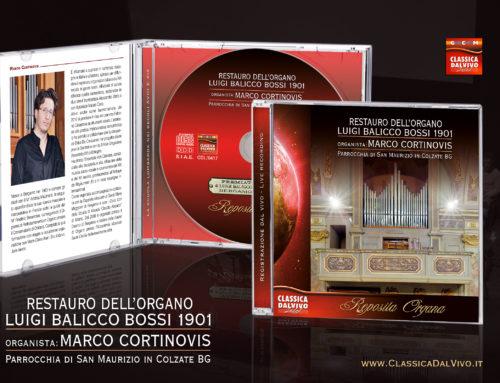 Marco Cortinovis: L'organo Luigi Balicco Bossi in Colzate BG
