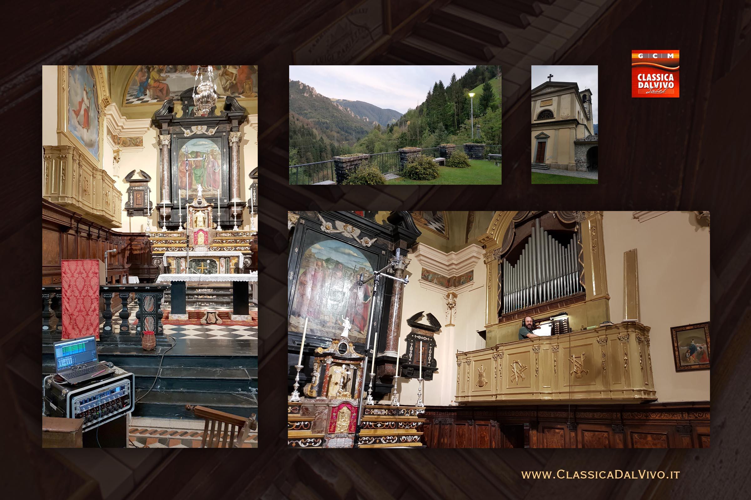 Paolo La Rosa - ClassicaDalVivo - Organo Parietti 1880 Mezzoldo