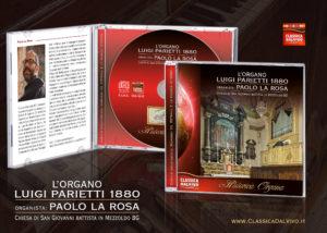 Paolo La Rosa, Organo Luigi Parietti 1880 di Mezzoldo