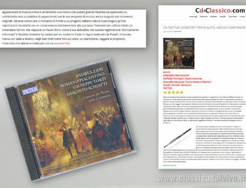 CD Classico – 19 luglio 2018 – Ensemble Carlo Antonio Marino – Raffaele Trevisani