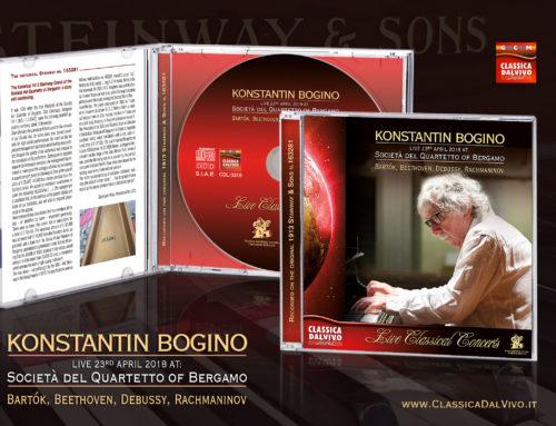 Luglio 2018 – Konstantin Bogino live alla Società del Quartetto di Bergamo