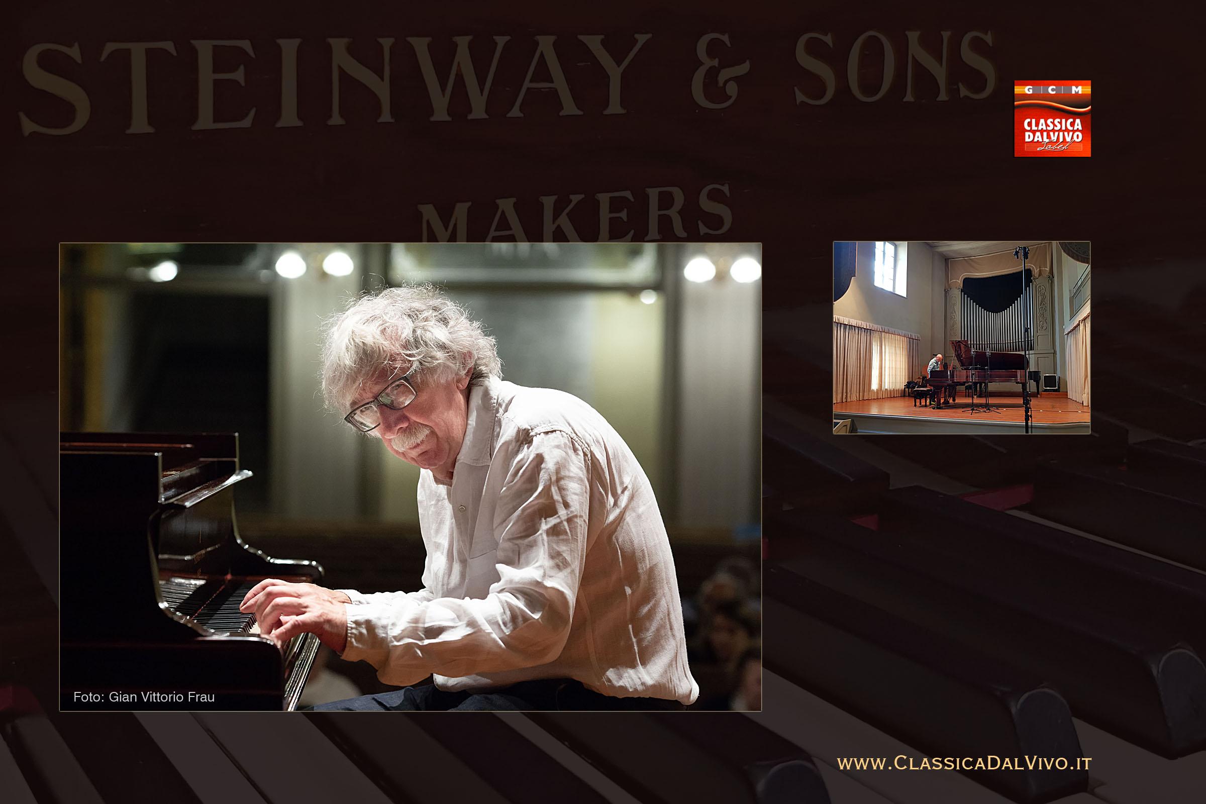 Konstantin Bogino concerto live del 23 aprile 2018 alla Società del Quartetto di Bergamo