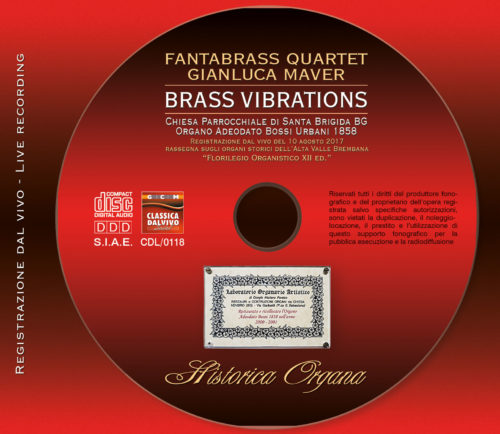 Serigrafia CD Fantabrass Quartet - Brass Vibrations