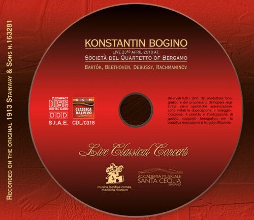 CD Konstantino Bogino live