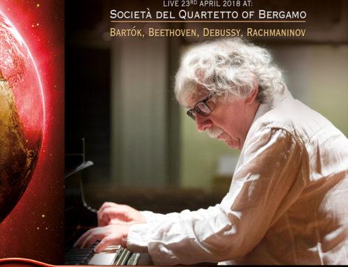Konstantin Bogino live at Società del Quartetto di Bergamo