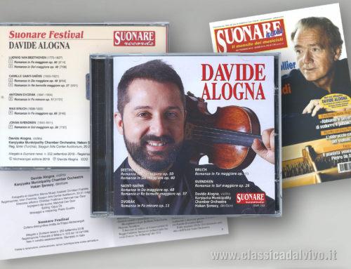 Settembre 2018: CD di Davide Alogna: Suonare NEWS