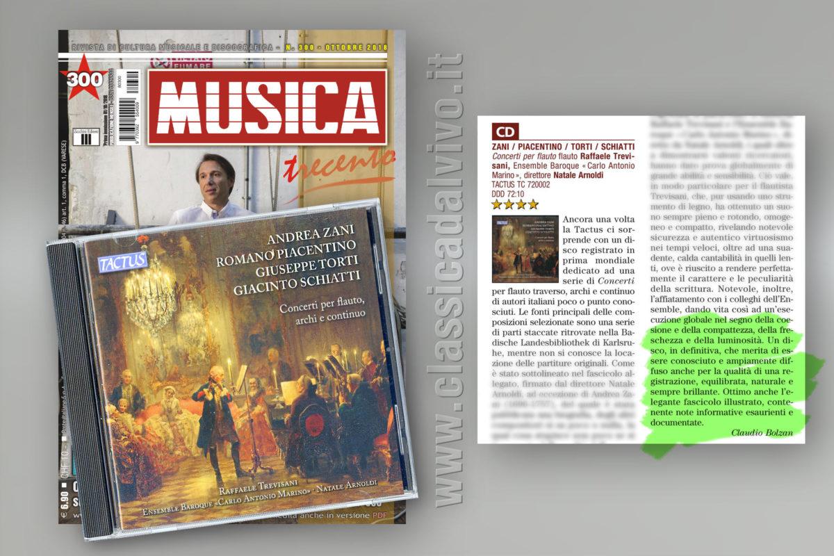 Raffaele Trevisani Natale Arnoldi Ensemble Carlo Antonio Marino