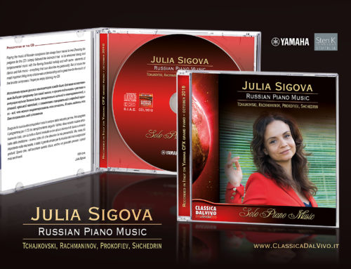 Dicembre 2018 – Julia Sigova, Russian piano music