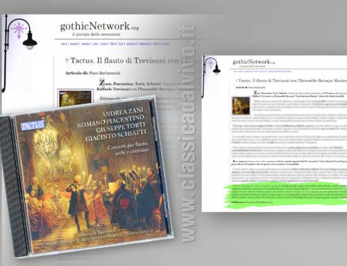 Gothic Network – Raffaele Trevisani Ensemble Carlo Antonio Marino