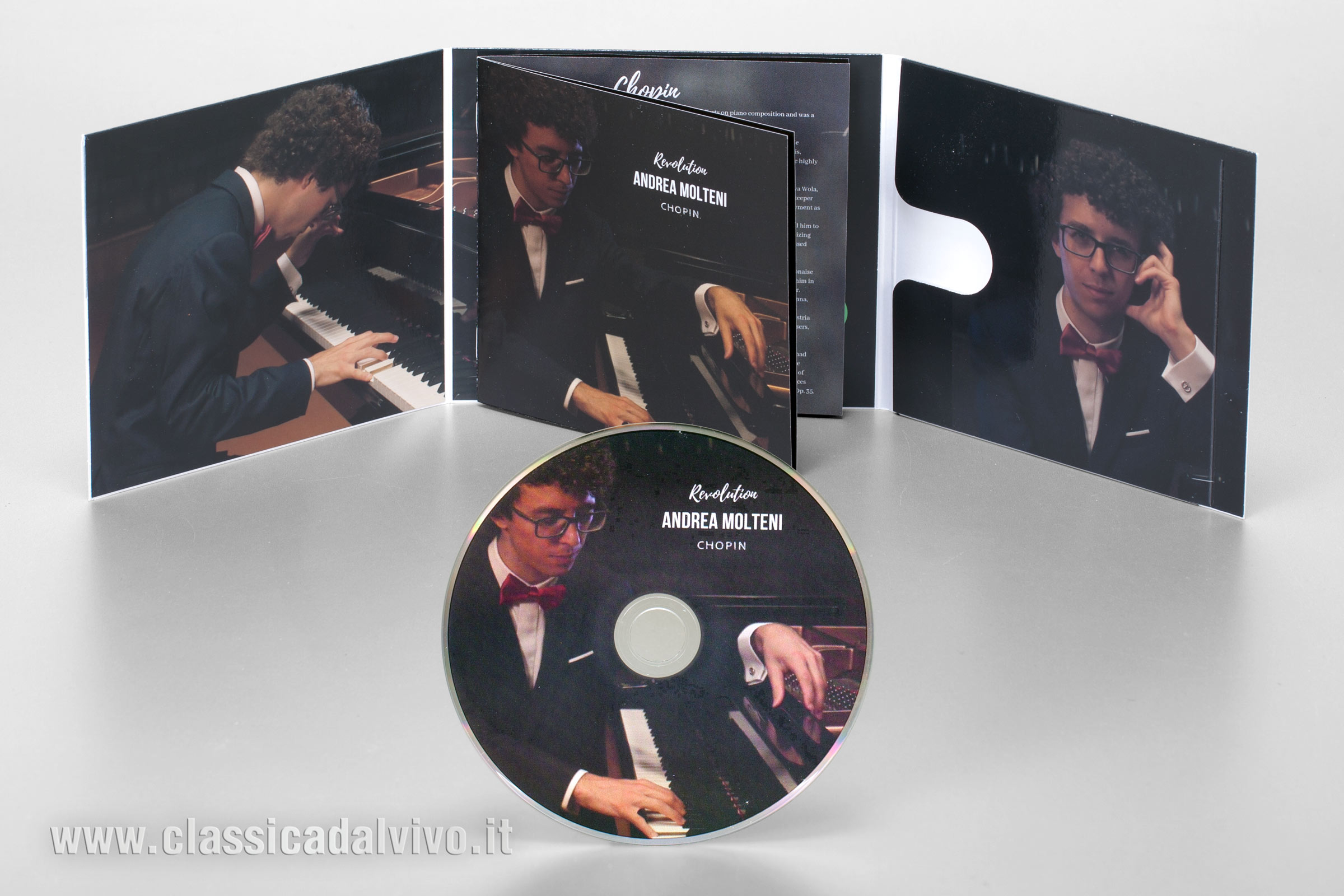 "Andrea Molteni - CD Live ""Revolution"""