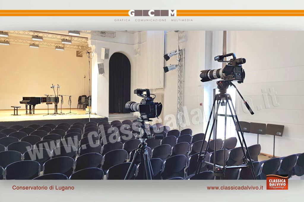Riprese audio / video di concerti di musica classica