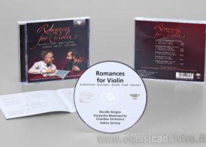 Davide Alogna Romances for Violin Brilliant Classics