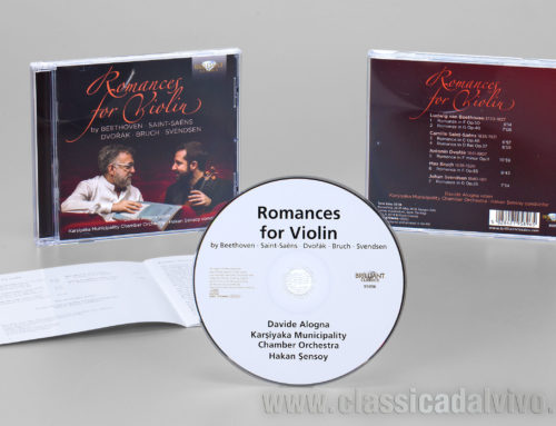 Davide Alogna: Romances for Violin – agosto 2019