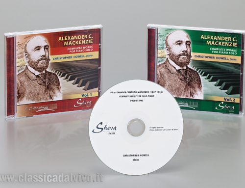 2019: Alexander Campbell Mackenzie – Complete works for piano solo – Christopher Howell