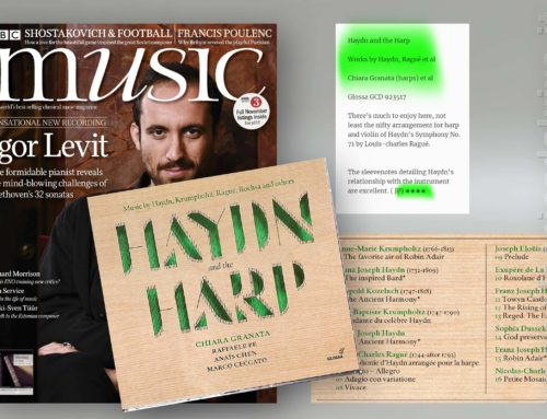 Recensioni – Chiara Granata: Haydn and the Harp