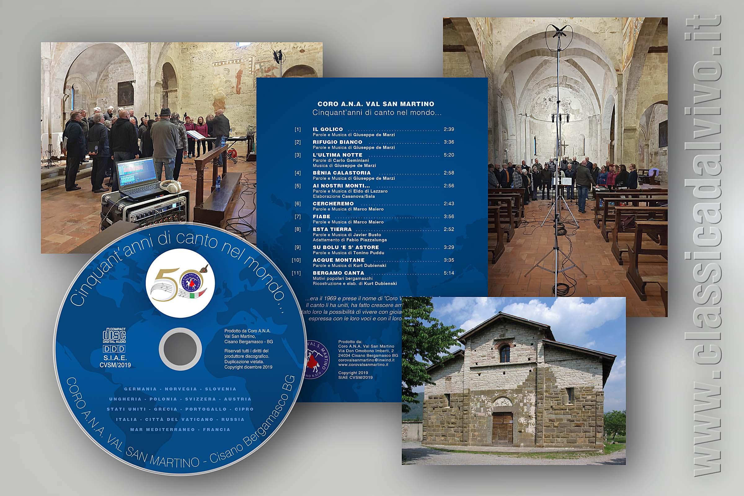 Coro Val San Martino: 50 anni di canto nel mondo