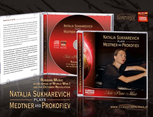 Natalia Sukharevic play Medtner and Prokofiev – gennaio 2020
