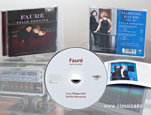 Brilliant: Faure Cello Sonatas – Luca Magariello, Cecilia Novarino