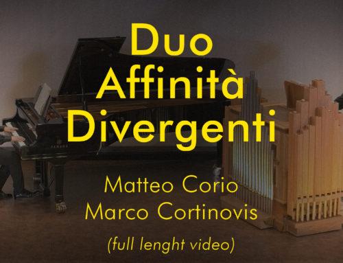 Duo Affinità Divergenti – Aprile 2020