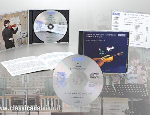 Tactus: Nuove musiche per violino solo, Roberto Arnoldi